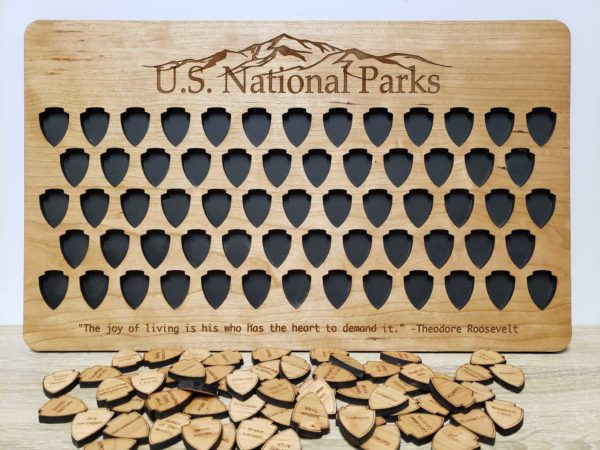 Empty 63 National Parks Board USA