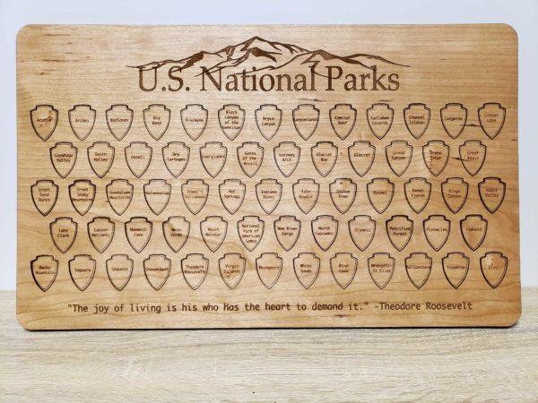 United States RV National Park Tracker