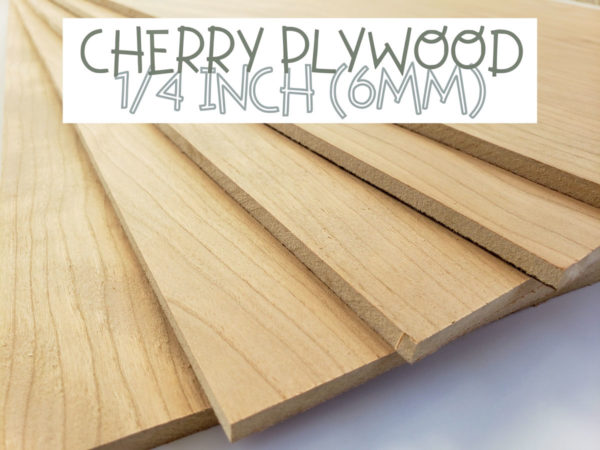 Cherry Plywood 1/4 Inch MDF Core