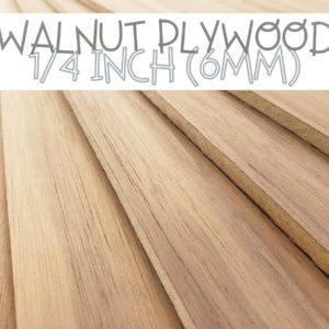 Walnut Quarter inch 1/4 plywood plank
