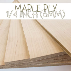 1/4 Inch quarter Maple Plywood