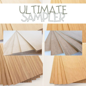 Wood Plank Variety Pack Samples