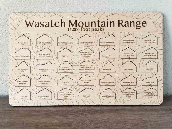 Wasatch 11000 mountain wrangler peak pagger