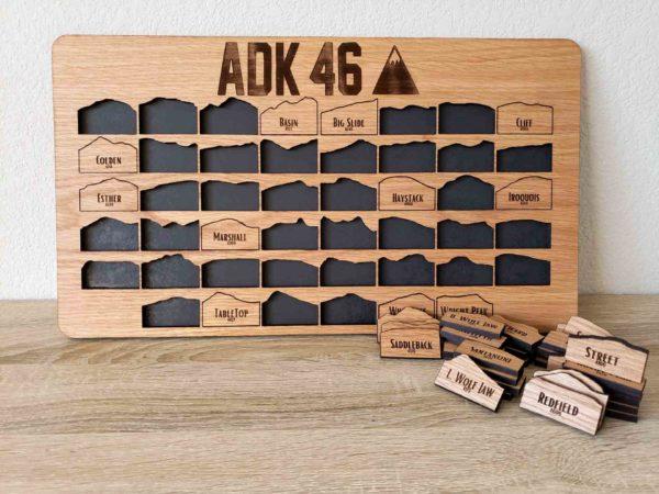 Adirondack 46ers ADK tracker board