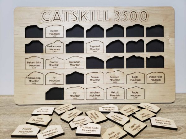 Catskill 3500 Club Peak Tracker Board