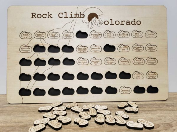 Climbing Colorado Routes Bucket List Board