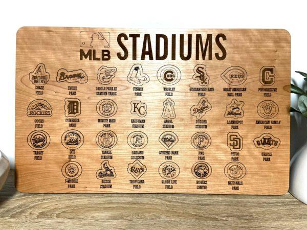MLB baseball tracking map