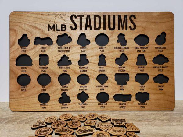 MLB Bucket List Board