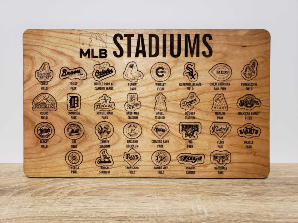 MLB Stadium Tracker