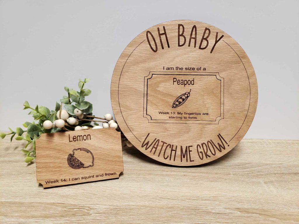 how many weeks pregnant tracker board