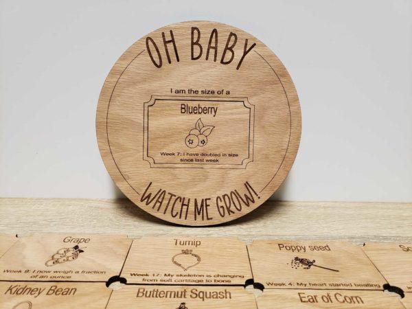 Pregnancy tracker board svg digital file