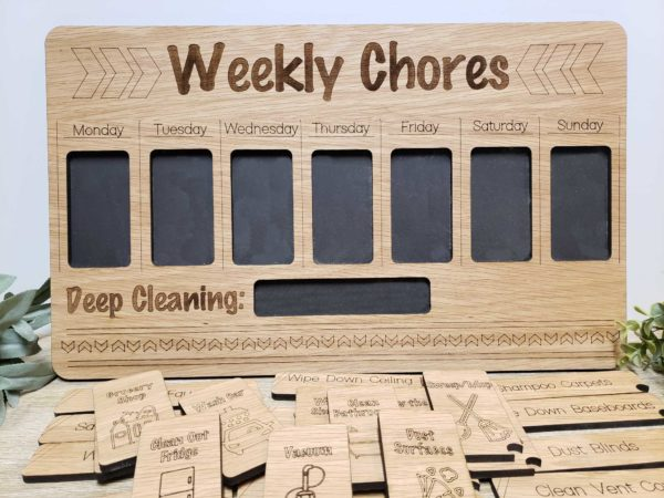 Deep Cleaning Weekly Chores Tracker