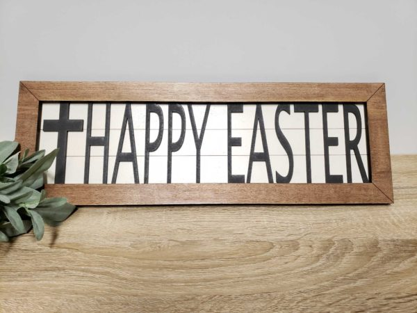 easter interchangeable sign