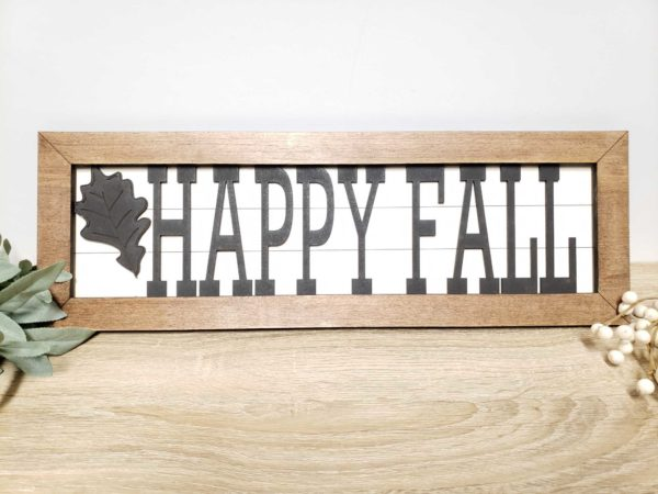 fall leaves interchangeable sign