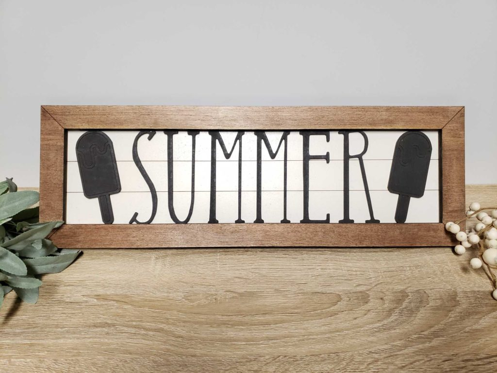 Summer Interchangeable Shiplap