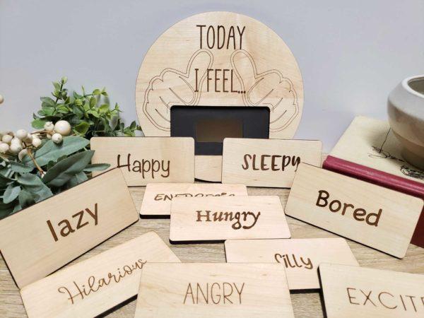 Emotions Tracker Board Today I Feel..