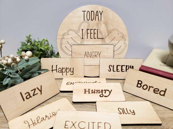 Emotions Montessori Board