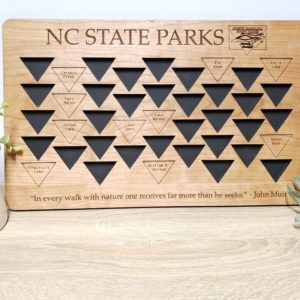 North Carolina State Parks Tracker
