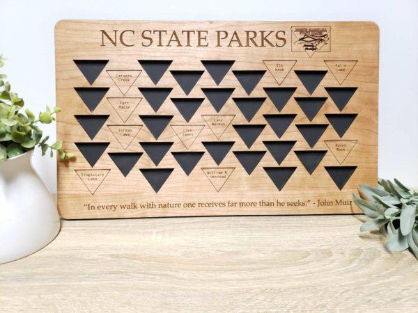 North Carolina State Parks Tracker