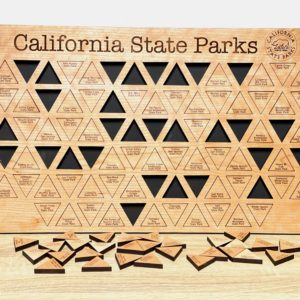CA State Parks Tracker Board