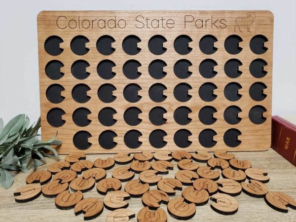 CO State parks tracker