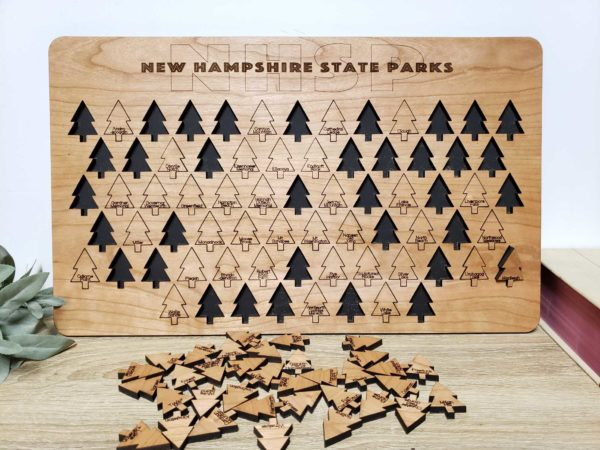 New Hampshire State Parks Tracker Board