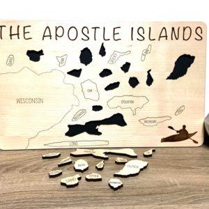 Apostle ISlands tracker board