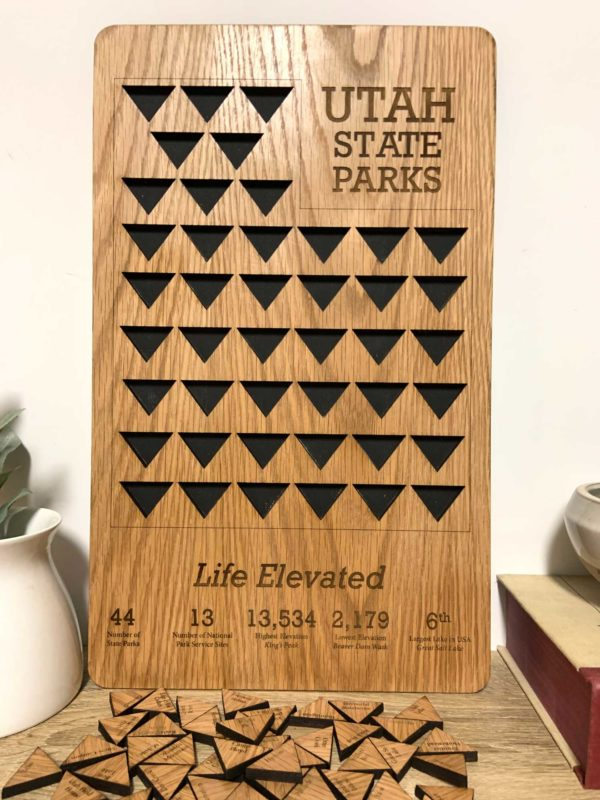 Utah State Parks Tracker Board