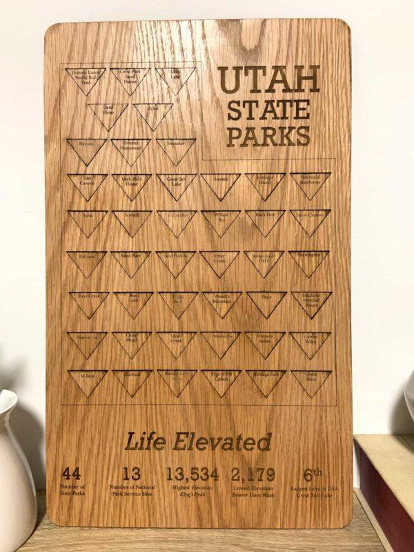 utah state parks tracking