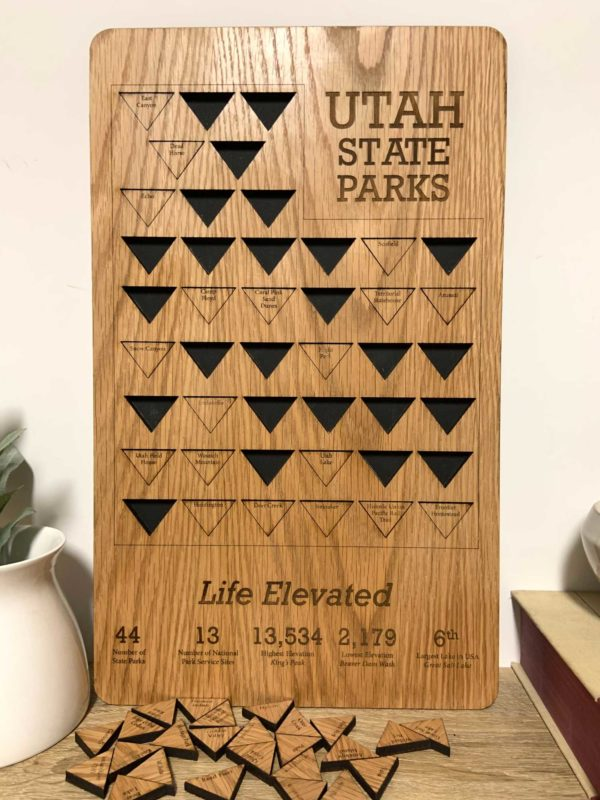 utah st parks puzzle board