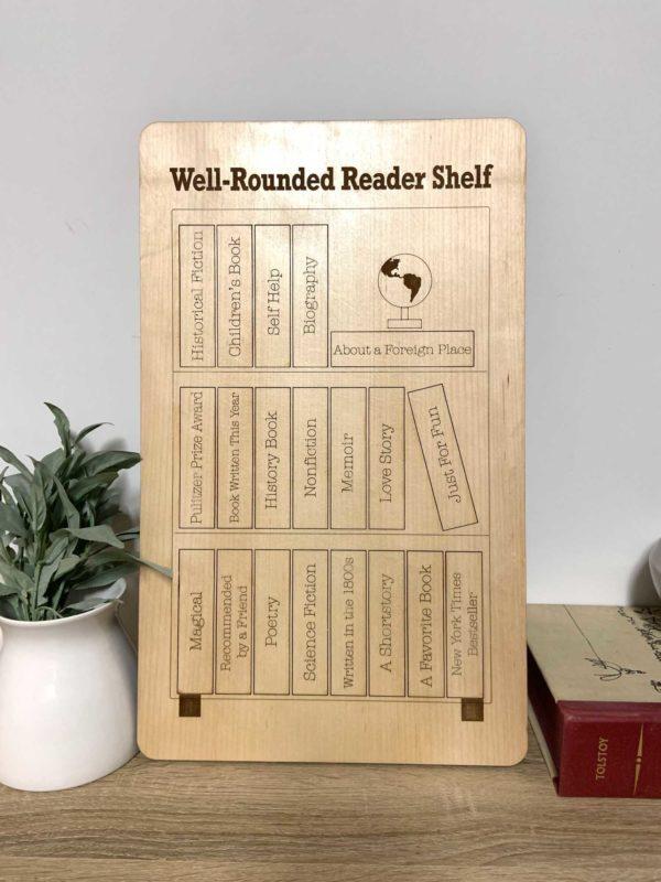 Book Tracker Genre Puzzle