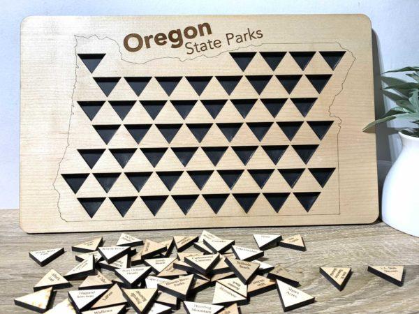 Oregon State Parks Tracker
