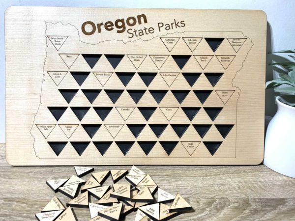 Oregon State Parks Tracker Board