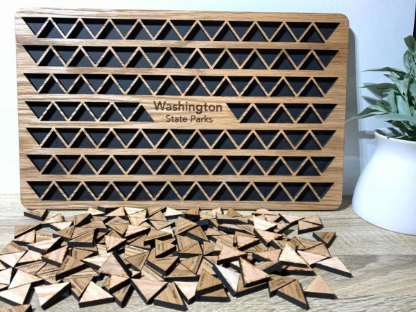 Washington state parks tracker
