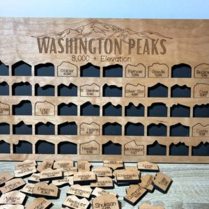 Washington Peak Tracker Board