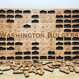 Washington Bulgers Tracker Board